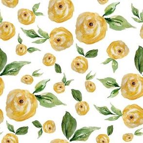 "8"" Yellow Roses"