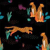 Sweet Cheetahs - Dark Neon