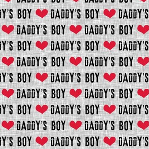 Daddy's Boy - C19BS