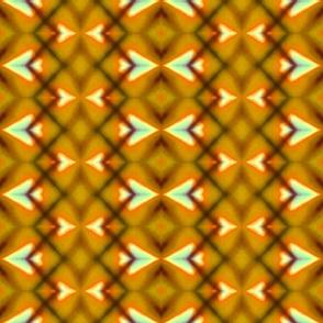 Golden Diamond Stripes