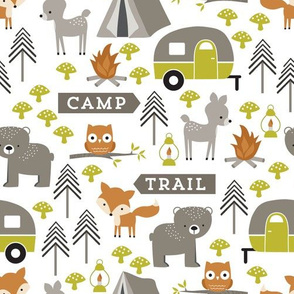 Happy Campers Woodland Animals