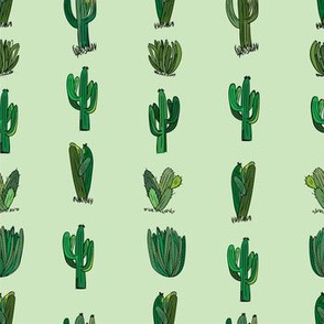 Saguaro Stripe--Green