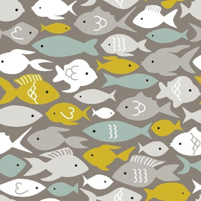 Under the Sea Fish Pattern