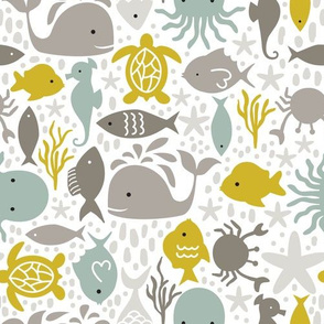 Under the Sea Coastal Pattern