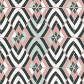Pattern of a desert plant