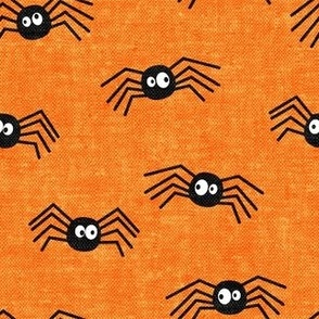 Cute Spiders - Halloween - orange - LAD19