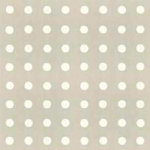 Masai Mara Linen - Ivory Dots