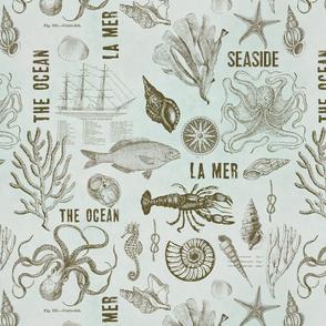 Vintage Nautical Pattern