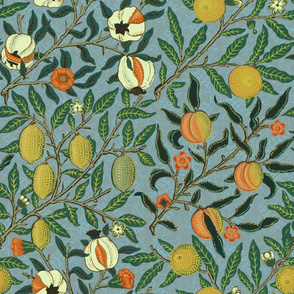 Fruit or Pomegranate ~ William Morris _ Special Edition ~ Antique Bright