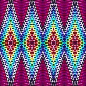 Super Stretched Rainbow Diamonds