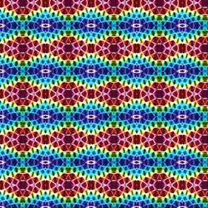Stained Glass Diamond Rainbows