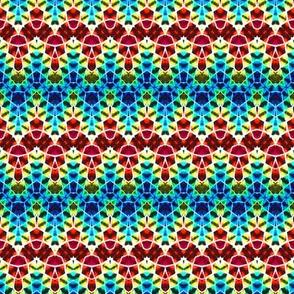 Mosaic Rainbow Dipsy Doodle
