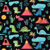 Dinosaurs (black)