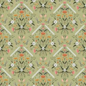Stitch Bouquet - Sage, Medium