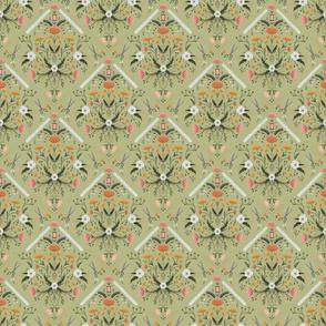 Stitch Bouquet - Sage, Small