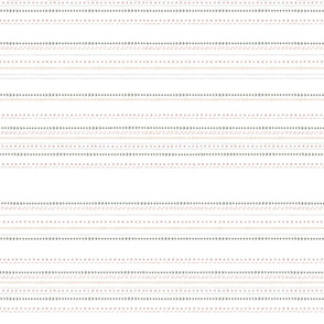 Stitch Sampler - White
