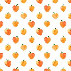 Watercolor ApricotDot