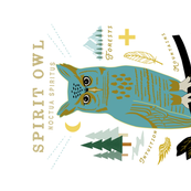 Spirit Owl Tea Towel