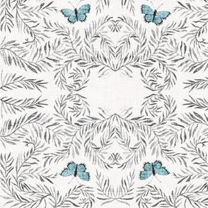 Papillon Boheme (silver) MED