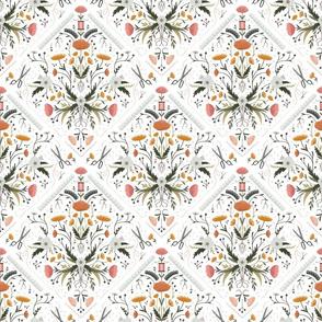 Stitch Bouquet - White, Medium
