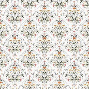 Stitch Bouquet - White, Small