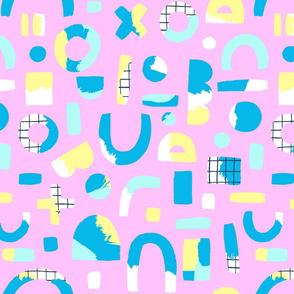 Geometry - Bubblegum Pink