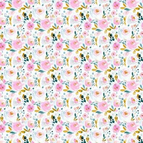 laylani Flora Half Drop - micro
