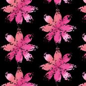 black swirly pinks