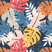 Colorful Monstera