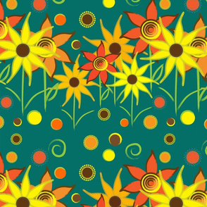 Sunny flowers I