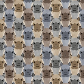 Alpaca pride - bold earthtones