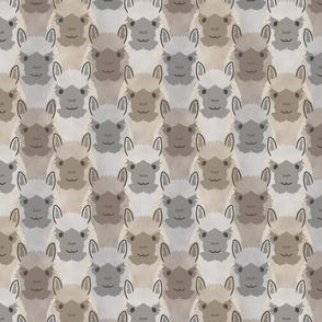 Alpaca pride - faded earthtones