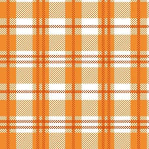 October Fall Plaid
