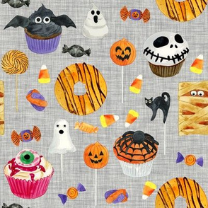 Halloween Sweet Treats // Gray Linen