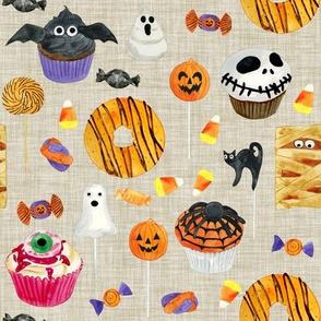Halloween Sweet Treats // Oatmeal Linen