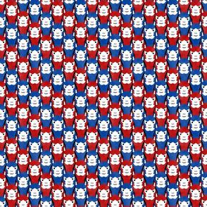 Small Alpaca pride - Patriotic stripes