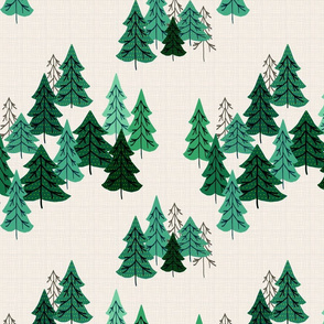 Pine Woods Version 2 Vintage
