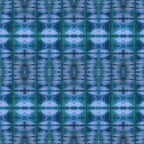 Green and Blue Shibori