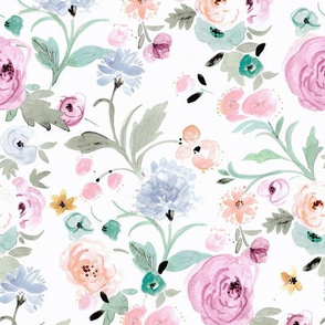 Audrey-floral-dreamy with sage