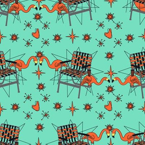 Halloween Lawn Chairs- Mint