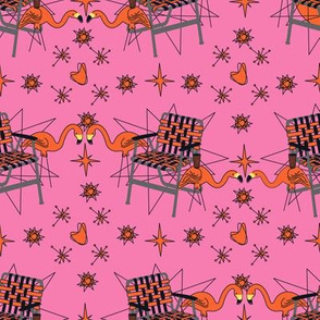 Halloween Lawn Chairs- Pink
