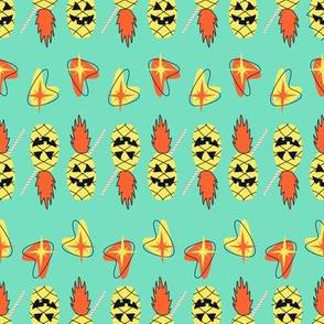Atomic Pineapple Lanterns- Mint