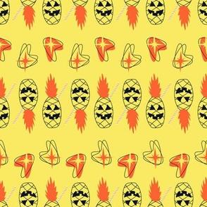 Atomic Pineapples- Yellow