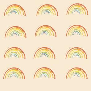 creamy dreamy rainbow