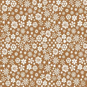 bronze wildflowers