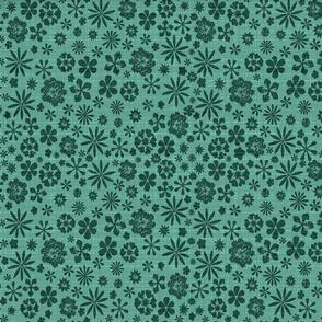 spearmint green meadow bark cloth