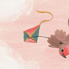 Robin and Kite Teatowel
