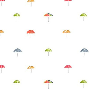 Dotted Umbrellas