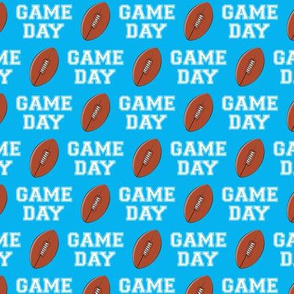 (small scale) Football - Game Day - bright blue - LAD19