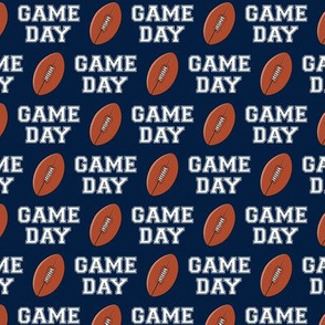(small scale) Football - Game Day - navy - LAD19BS